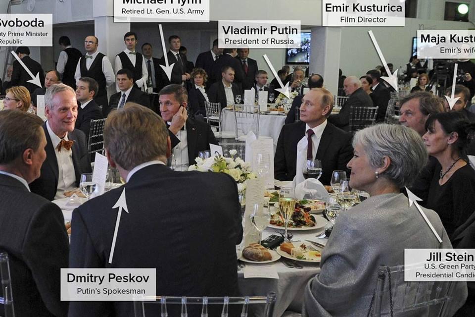 Jill Stein and putin