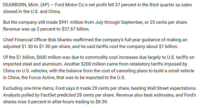 TSLA_Comp_Ford_3rd_qtr_financials