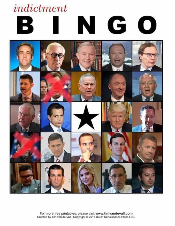 Bingo, Manafort