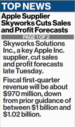 SWKS_Cut_Forecasts